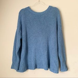 American Eagle Baby Blue Sweater Size Large